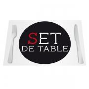 sets de table numérique