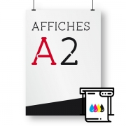 Affiches A2 plotter