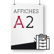 Affiches A2 numérique