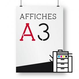 affiches A3 numérique
