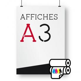 affiches A3 offset